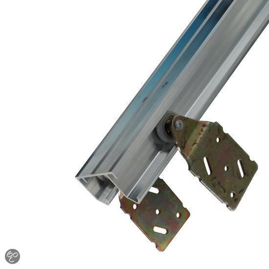 Henderson Schuifdeurbeslag - 240 cm aluminium bovenrails u2013 Voor 3 ...