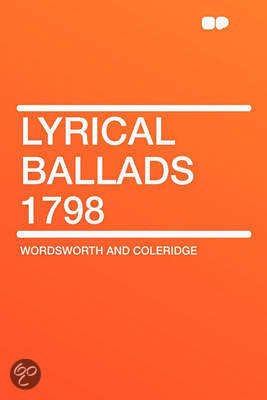 bol.com | Lyrical Ballads 1798, Wordsworth and Coleridge ...