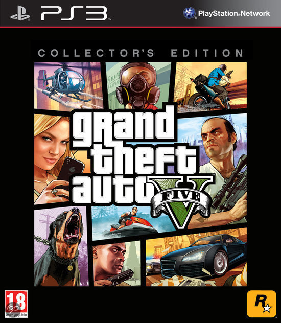 Grand Theft Auto V - Collector's Edition