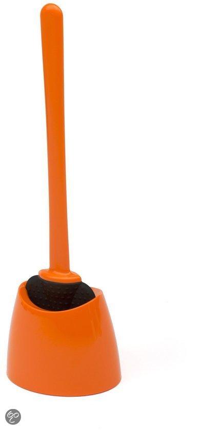 Wc wonder toiletborstel het wc wonder oranje wonen - Wc oranje ...