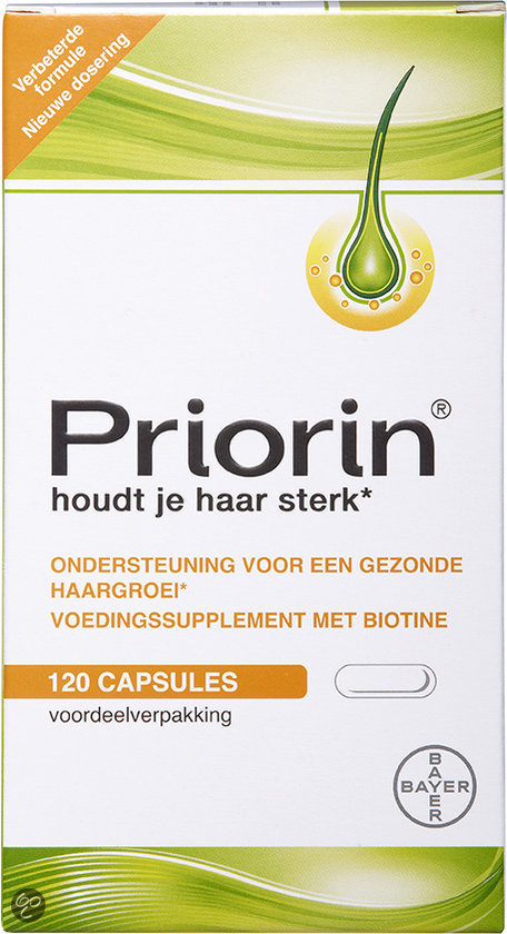 Priorin - Haaruitval - 120 Capsules - Voedingssupplementen