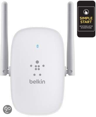 Belkin Dual-Band Wireless Range Extender - Wit