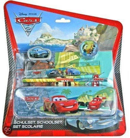 Disney Cars schrijfset pennenblik in Oudendijk