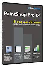 SheArt Staplessen PaintShop Pro X4 - Nederlandstalige Cursus