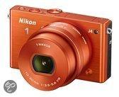 Nikon 1 J4 + 10-30 mm - Systeemcamera - Oranje