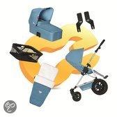 Koelstra Binque Daily Pack - Kinderwagen Compleet - Plume 2013