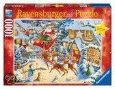 Ravensburger Puzzel de Kerstman in Zijn Arreslee