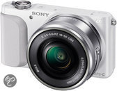 Sony NEX-3N + 16-50mm - Systeemcamera - Wit