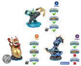 Skylanders Swap Force Adventure Triple Pack Star Strike, Gill Grunt, Trigger Happy Wii + PS3 + Xbox360 + 3DS + Wii U + PS4