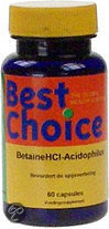 Best choise Acidophilus Betaine Hcl /bc Ts