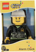 LEGO City Brandweer alarm Clorck
