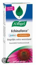 A.Vogel Echinaforce Junior + Vitamine C Kauwtabletten - 40 Tabletten