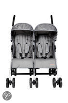 Top Mark - Twin Buggy Aluminium - Grijs