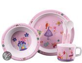 K-nuffel - Kinderservies/Bestek - Princess Roze