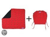 Dooky - Combipack (Dooky + Dooky Blanket) Lieveheersbeestje - Rood