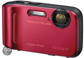 Sony Cybershot DSC-TF1 Waterproof - Rood