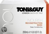Toni & Guy Nourish Reconstruction Masker - 200 ml - Haarmasker