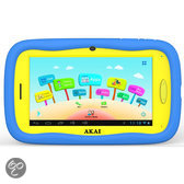 Akai ATAB701 - 4GB - Geel/Blauw - Kinder tablet
