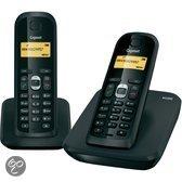 Gigaset AS200 - Duo DECT telefoon - Zwart