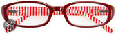 I Need You - The Frame Company Contactlenzen Leesbril BEACH rood +1.50 dpt