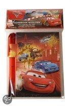 Disney Notitieboek cars met pen