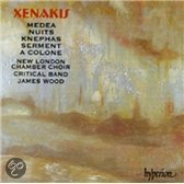 Xenakis: Medea, Nuits, etc / Wood, New London Chamber Choir