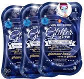 Dr. van der Hoog Glitter Glow Peel Off - Gezichtsmasker - 3 stuks - Voordeelverpakking