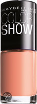 Maybelline Color Show - 110R Coral Reefs - Oranje - Nagellak
