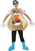 Mr Potatoe head - Kostuum - Maat L - Bruin