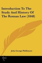 Introduction To The Study And History Of The Roman Law (1848)