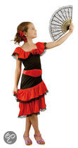 Luxe Spaanse Schoonheid - Kostuum - 4-6 jaar