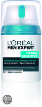 LOral Paris Men Expert Hydra Sensitive Hydraterende Gevoelige huid - Gezichtscrme