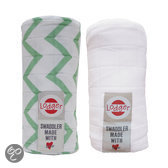 Swaddler 2-pack - Hydrofile doek - Anise