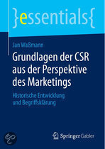 Grundlagen Der Csr Aus Der Perspektive Des Marketings