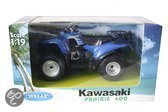 Welly Kawasaki prairie 400 blauw