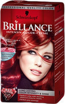 Schwarzkopf Brillance 842 - Kasjmierrood