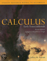 Student Resource Manual to Accompany Calculus