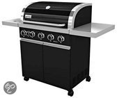 Patton Prominent 5+-burner Gasbarbecue - Nova Black