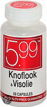 5.99 Knoflook en visolie - 58 Capsules - Voedingssupplement