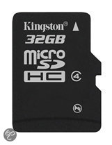 Kingston microSD kaart 32 GB