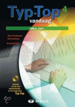 Typ-top vandaag 4 (office 2007) - leerwerkboek (+ cd-rom)