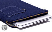 Laptophoes 11 inch Billy Jeans (blauw)
