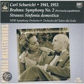 Brahms: Symphony No. 2; Strauss: Sinfonia domestica