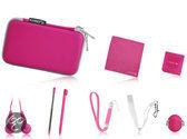 Playfect 12-in-1 Standaard Accessoirepakket Roze 3DS + Dsi + DS Lite
