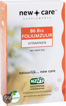 New Care B6 B12 Foliumzuur Vitaminen - 60 Zuigtabletten