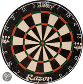 Dartbord sisal razor