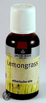 Jacob Hooy Lemongrass - 30 ml - Etherische Olie
