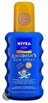 Nivea Kids Sun Gekleurd -  SPF 50+ - 200 ml - Zonnebrandspray