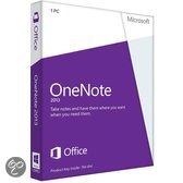 Microsoft OneNote 2013 - Nederlands / 32-bit/64-bit / 1 Licentie / Medialess