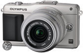 Olympus PEN E-PM2 + 14-42mm - Systeemcamera - Zilver